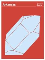 Montague State Posters - Arkansas Fine Art Print