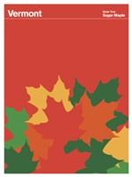Montague State Posters - Vermont Fine Art Print