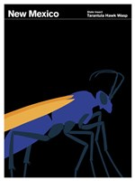 Montague State Posters - New Mexico by Print Collection - various sizes, FulcrumGallery.com brand
