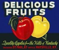 Delicious Fruits by Print Collection - various sizes