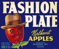 Fashion Plate Apples Fine Art Print