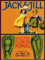 Jack & Jill Brand Peppers by Print Collection - various sizes, FulcrumGallery.com brand