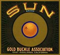 Sun Brand Citrus Fine Art Print