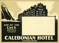 Caledonian Hotel, Edinburg by Print Collection - various sizes - $46.49