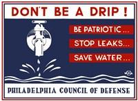 Don't Be a Drip! Fine Art Print