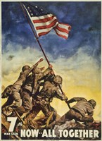 Marines All Together Fine Art Print
