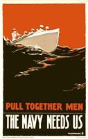 The Navy Needs Us Fine Art Print