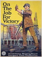 On the Job for Victory by Print Collection - various sizes