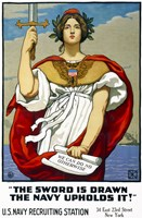The Sword is Drawn, the Navy Upholds It! by Print Collection - various sizes