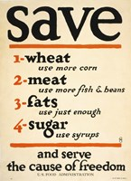 Save and Serve the Cause of Freedom by Print Collection - various sizes - $41.99