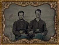 Civil War Brothers in Arms Fine Art Print