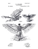Flying Machine, R. J. Spalding by Print Collection - various sizes, FulcrumGallery.com brand