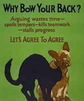 Why Bow Your Back? by Print Collection - various sizes
