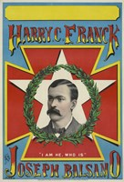 Harry C. Franck as Joseph Balsamo by Print Collection - various sizes