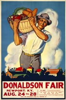 Donaldson State Fair Poster by Print Collection - various sizes