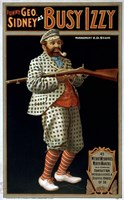 Funny George Sidney as Busy Izzy by Print Collection - various sizes - $41.49