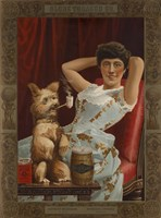 Globe Tobacco Co. Goes to the Dogs by Print Collection - various sizes