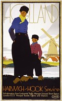 Holland, Harwich-Hook Service by Print Collection - various sizes