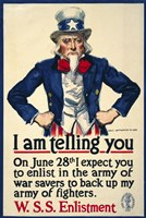 I Am Telling You by Print Collection - various sizes, FulcrumGallery.com brand