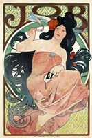 Job Papers by Mucha by Print Collection - various sizes, FulcrumGallery.com brand