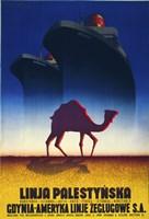 Linja Palestynska Fine Art Print