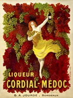 Liquer Cordial-Medoc, G. A. Jourde - Bordeaux by Print Collection - various sizes - $40.99