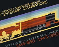 Liverpool & Manchester Railway by Print Collection - various sizes