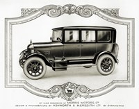 Morris Motors Automobile, from Penrose Annual by Print Collection - various sizes