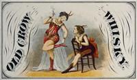 Old Crow Whiskey Fine Art Print
