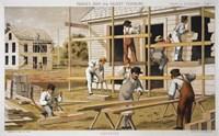 Prang's Carpenter Aid Fine Art Print