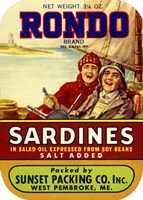 Rondo Sardines Salt Added by Print Collection - various sizes, FulcrumGallery.com brand