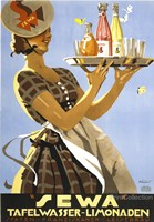 Sewa Tafelwasser - Limonaden by Print Collection - various sizes - $23.99