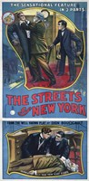 The Streets of New York Play Poster by Print Collection - various sizes