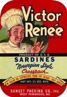 Victor Renee Sardines by Print Collection - various sizes
