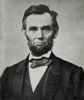 Abraham Lincoln, Head and Shoulders Framed Print