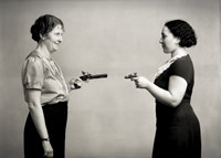 Female Shoot Out by Print Collection - various sizes