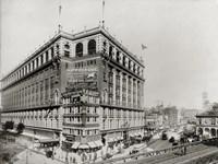 Macy's Department Store, New York, N.Y. Fine Art Print