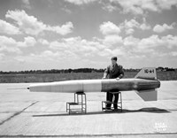 Man and Ramjet Missile by Print Collection - various sizes, FulcrumGallery.com brand