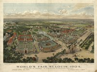St Louis Worlds Fair by Vintage Apple Collection - various sizes