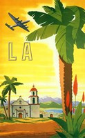 La Palm Tree Fine Art Print