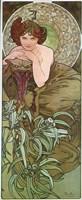 Emeraude Fine Art Print