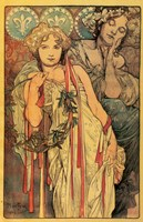 Daily News by Alphonse Mucha - various sizes - $44.49