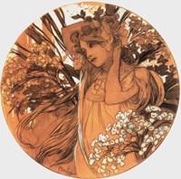 Spring Medallion Fine Art Print