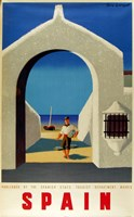 Spain Fisherman Fine Art Print