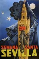 Semana Santa Sevilla IV Fine Art Print