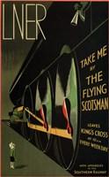 Flying Scotsman Fine Art Print