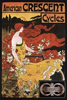 Crescent Cycles by Vintage Apple Collection - various sizes, FulcrumGallery.com brand