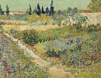 Bluhender Garten Fine Art Print
