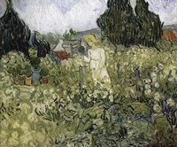 Marguerite Gachet In The Garden Fine Art Print