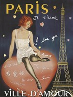 Paris I Love You by Vintage Apple Collection - various sizes